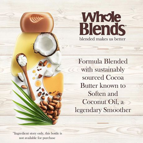 Garnier Whole Blends Coconut Oil & Cocoa Butter Smoothing Conditioner - image 4 of 6