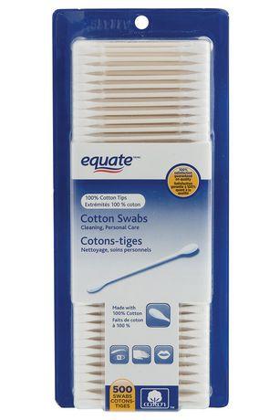 Cotons-tiges Equate - image 1 de 1