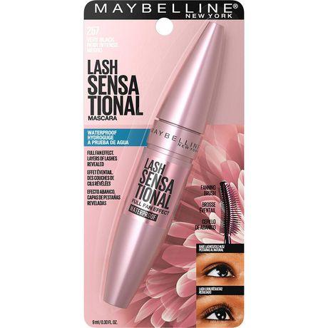 Maybelline New York Lash Sensational Full Fan Effect Waterproof Volume Mascara Very Black - image 2 of 8