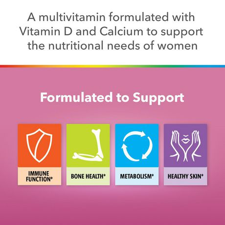 Centrum Women Multivitamin and Multimineral Supplement Tablets, 90 Count - image 2 of 4