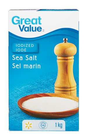 Great Value Sea Salt - image 1 of 1
