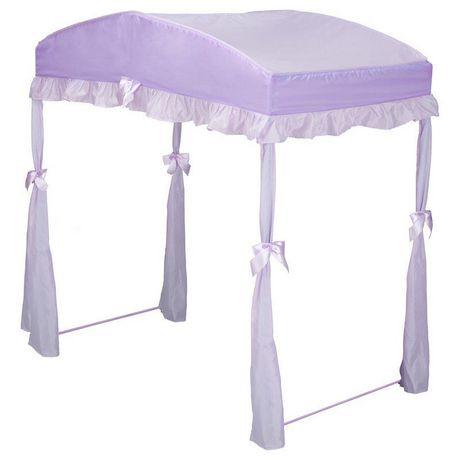 baldaquin d coratif pour lit enfant violet walmart canada. Black Bedroom Furniture Sets. Home Design Ideas