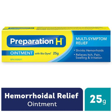 Preparation H® Multi-Symptom Hemorrhoid Treatment Ointment with Bio-Dyne, 25g Tube - image 1 of 4