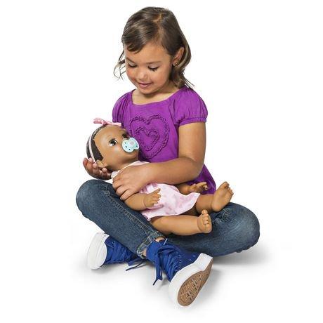 Luvabella - Dark Brown Hair - Responsive Baby Doll with ...