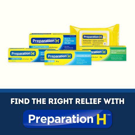 Paquet de suppositoires de Préparation H - image 4 de 4