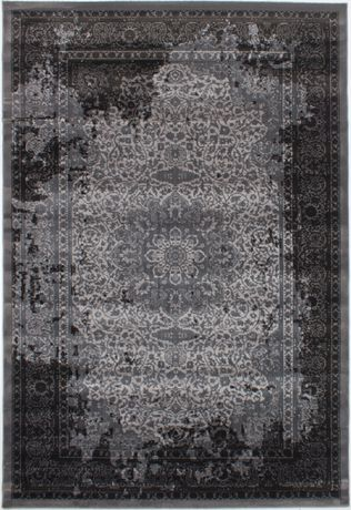 "eCarpetGallery Chateau Grey Polypropylene Rug 6'7"" X 9'6"" - image 5 of 5"