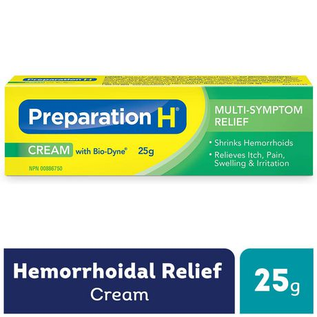 Preparation H® Multi-Symptom Hemorrhoid Treatment Cream with Bio-Dyne, 25g Tube - image 1 of 4