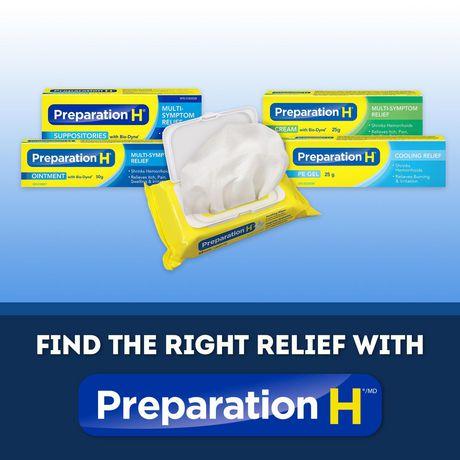Preparation H® Multi-Symptom Hemorrhoid Treatment Cream with Bio-Dyne, 25g Tube - image 4 of 4