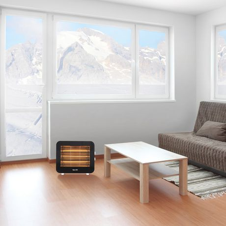 radiateur lectrique infrarouge au quartz 1 500 w walmart canada. Black Bedroom Furniture Sets. Home Design Ideas