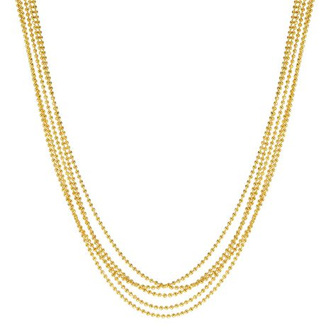 Ti Amo 18K Gold over Bronze Necklace - image 1 of 1