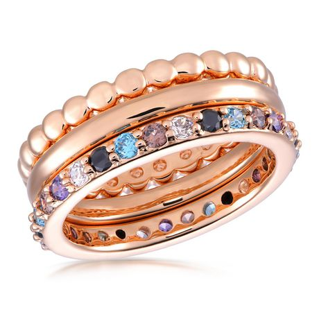 Ti Amo 18K Gold over Bronze Ring - image 1 of 1