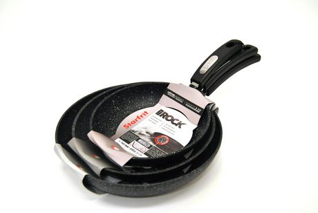 THE ROCK Classic 20+ 24+28cm Frypan Set - image 1 of 1