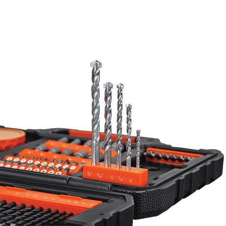 99d496b12 Black & Decker BDA91132 132 Piece Project Kit | Walmart Canada
