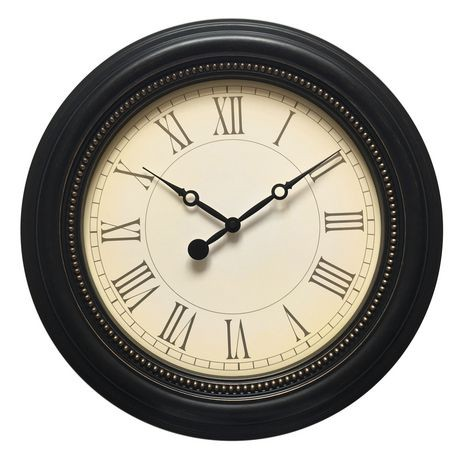 hometrends Oversized Sentiments Wall Clock