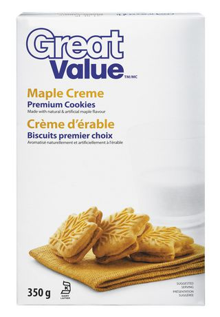 Great Value Maple Creme Premium Cookies - image 1 of 2