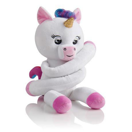 Fingerlings HUGS - Gigi (Blanc) - Bébé licorne interactif en peluche avancé – Par WowWee - image 1 de 5