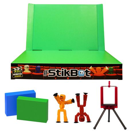 Stikbot 2-in-1 Zanimation Studio with Z Screen - image 2 of 2