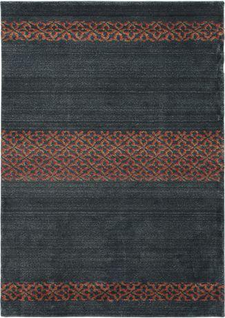 "eCarpetGallery Frieze Tribal Black  Rug 5'4"" X 7'7"" - image 1 of 5"