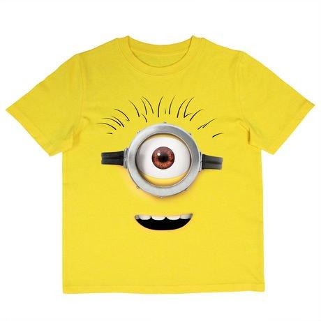 minions boys 39 short sleeve tee shirt. Black Bedroom Furniture Sets. Home Design Ideas