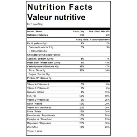 Oatmeal Crisp™ Vanilla Almond Cereal - image 3 of 3