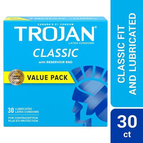 Trojan Classic Lubricated Condoms - image 1 of 7