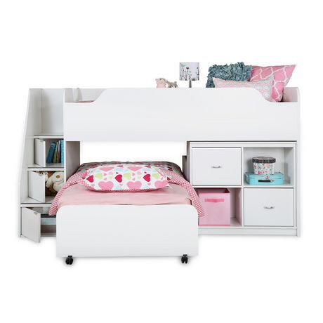 lit gigogne sur roulettes collection mobby de meubles south shore simple 39 po walmart canada. Black Bedroom Furniture Sets. Home Design Ideas