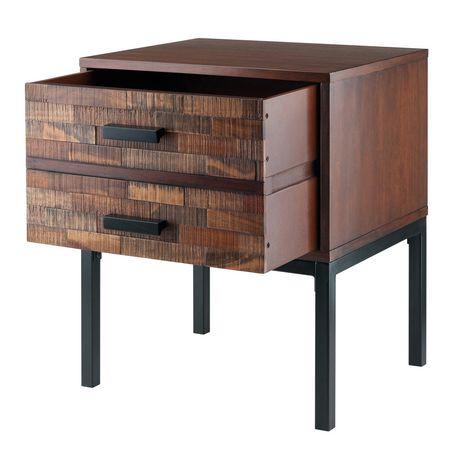 winsome jefferson end table walmart canada. Black Bedroom Furniture Sets. Home Design Ideas