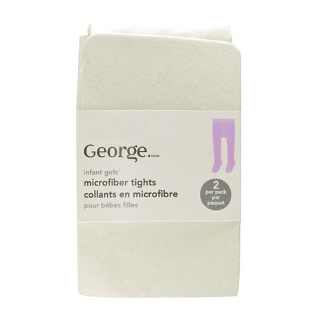 George Microfibre Tight 2pk - image 1 of 1