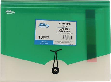 classeur expansible de format lettre en poly hilroy walmart canada. Black Bedroom Furniture Sets. Home Design Ideas
