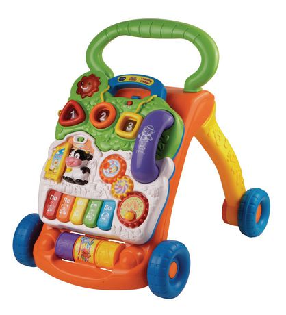 vtech sit to stand learning walker toy english walmart canada. Black Bedroom Furniture Sets. Home Design Ideas