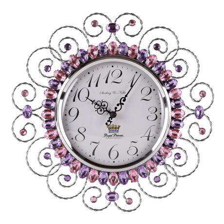 Mainstays Horloge murale rose à bijoux - image 1 de 1