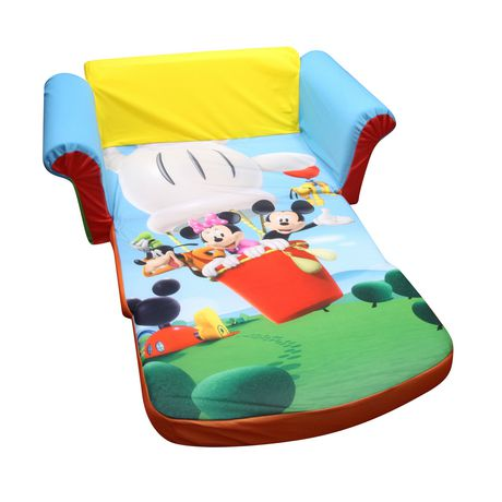 marshmallow canap d pliable mickey mouse club house. Black Bedroom Furniture Sets. Home Design Ideas