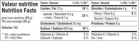 Saucisses conservées non cuites Dalisa en combo de 5 saveurs - image 3 de 3
