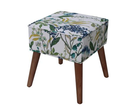 Hometrends Square ottoman - image 2 of 2