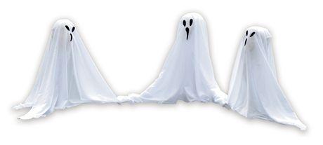 Halloween Piquet de Jardin d'ensemble des fantômes - image 1 de 1