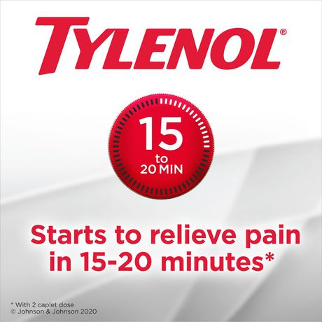 Tylenol Extra Strength Pain Reliever Caplets, 24 Caplets - image 7 of 7