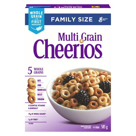 Cheerios™ Multi-Grain Cereal Family Size - image 8 of 9