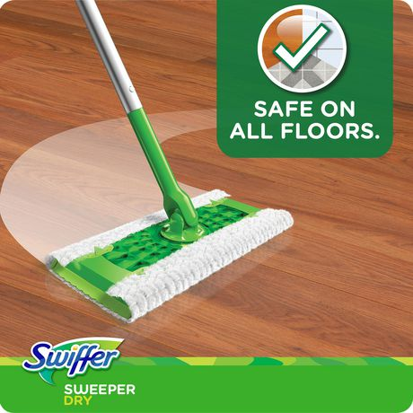 Swiffer Sweeper Dry Sweeping Pad Multi Surface Refills for Dusters floor mop, Gain - image 4 of 7