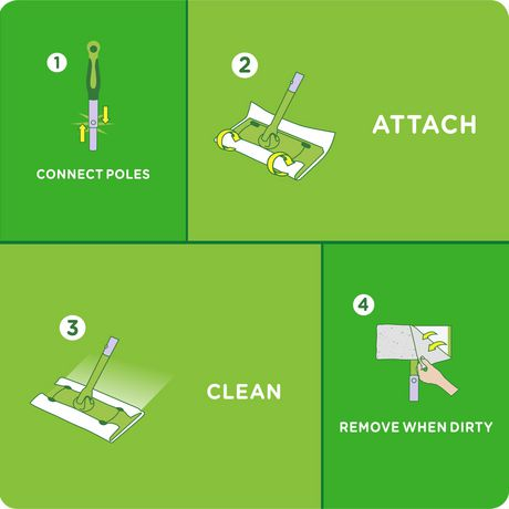Swiffer Sweeper Dry Sweeping Pad Multi Surface Refills for Dusters floor mop, Gain - image 7 of 7