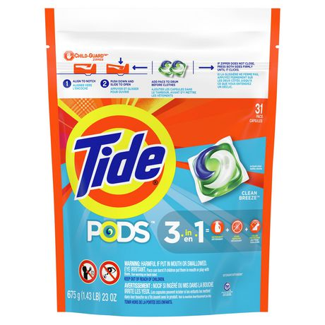 Tide PODS Ocean Mist Scent HE Turbo Laundry Detergent Pacs - image 1 of 8
