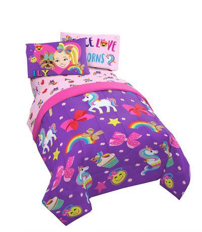 Jojo Siwa 4pc Twin Bed Set And Bonus Bag Walmart Canada