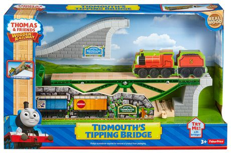 Fisher-Price Thomas & Friends Wooden Railway Tidmouth's Tipping Shed - image 7 of 8