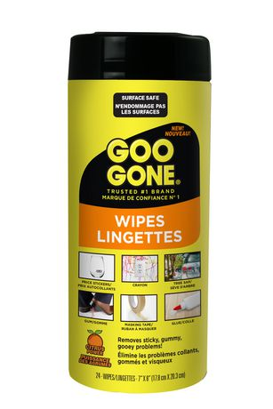 Goo Gone Adhesive Remover Wipes Walmart Canada