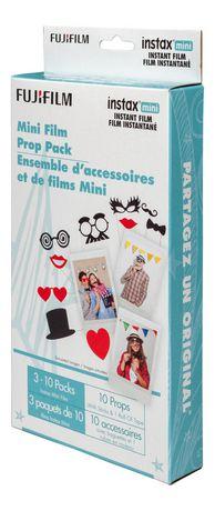 Fujifilm Instax Mini Film Prop Pack Walmart Canada