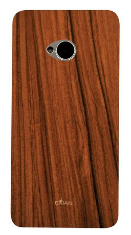 Exian Case for HTC One - Wood Brown - image 2 of 2