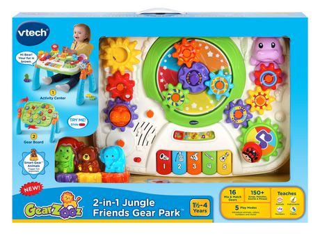 VTech® GearZooz™ 2-in-1 Jungle Friends Gear Park™ - English Version - image 4 of 9