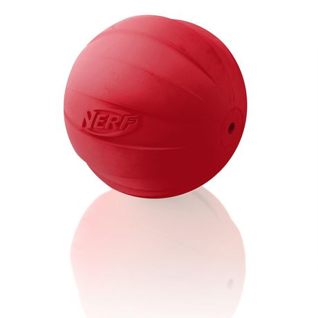 Nerf Dog Squeaker Red Ball - image 2 of 4