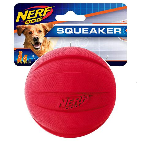 Nerf Dog Squeaker Red Ball - image 3 of 4