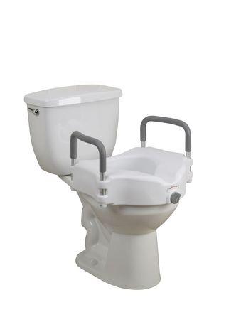 Si 232 Ge De Toilette Sur 233 Lev 233 Avec Accoudoirs Rembourr 233 S