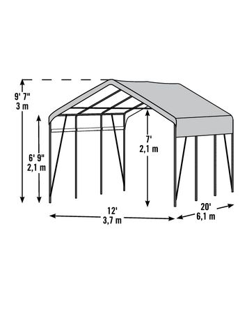 ShelterLogic Carport-in-a-Box - image 1 of 2